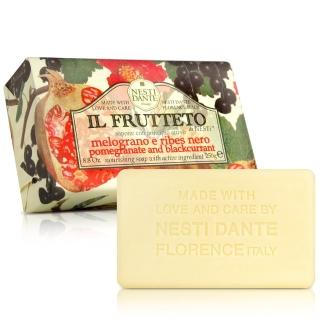 【Nesti Dante  義大利手工皂】天然鮮果系列(石榴和黑醋栗 滋養-250g)