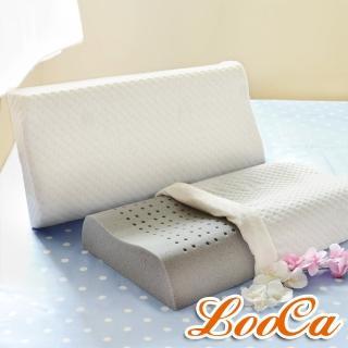 【型錄】獨家款LooCa尊爵特大型天絲舒眠記憶枕(2入)