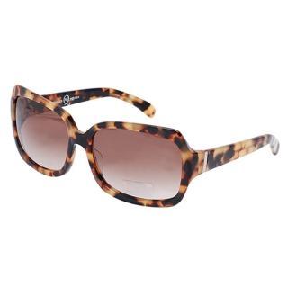 【Alexander McQueen】100%抗UV琥珀色太陽眼鏡(MC 27-125-C1)