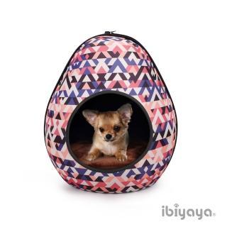 【IBIYAYA依比呀呀】摩登恐龍蛋寵物窩-幾何粉(FB1412)