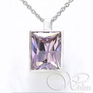 【Whim】晶雕璀璨 銀墜(永恆的年代 系列)