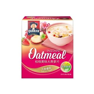 【桂格】美味大燕麥片-水果優格49g*5入