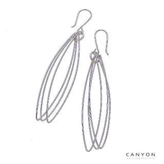 【CANYON】大長眼圈圈耳環