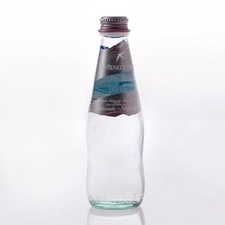 【San Benedetto】聖碧濤天然礦泉水250毫升(玻璃瓶 24入)