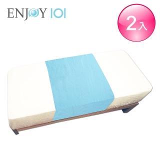 【ENJOY101】矽膠布防水中單/看護墊/保潔墊/尿墊(140x65cm*2件組)