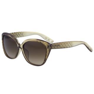 【BOTTEGA VENETA】時尚太陽眼鏡BV255FS(漸層茶色)