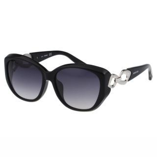 【SWAROVSKI】水鑽 太陽眼鏡(黑色)