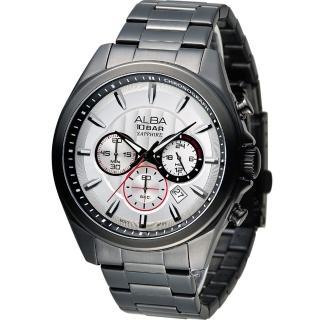 【ALBA 雅柏】活力型男競速計時腕錶(VD53-X219SD AT3829X1)
