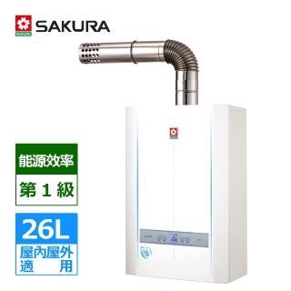 【櫻花SAKURA】SH-2690 數位恆溫熱水器 LPG/NG(含北北基基本安裝)