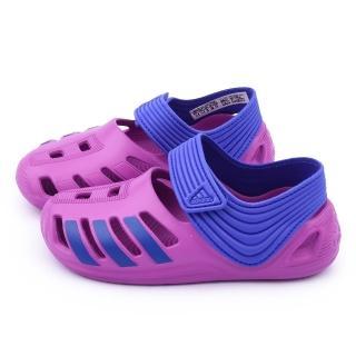 【Adidas】中大童 輕量運動涼鞋(B44456-紫)