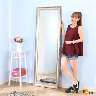 【BuyJM】新古典風立體浮雕穿衣鏡/壁鏡(高183寬60公分)