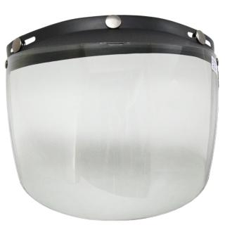 耐磨抗uv安全帽護目鏡-長鏡片(2入)