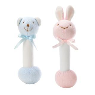 【nac nac】音樂鈴(兔頭 粉紅/熊頭 粉藍)