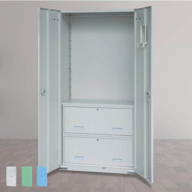 【時尚屋】HDF多用途二抽置物櫃 三色可選(RU5-HDF-SC-009)