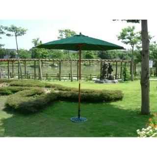 【BROTHER 兄弟牌】九尺綠色木製太陽傘(BROTHER 兄弟牌)