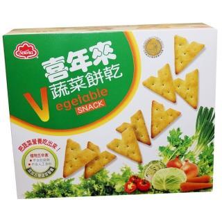 【喜年來】蔬菜餅乾50g(蔬菜餅)