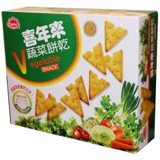 【喜年來】蔬菜餅乾經濟包150g(蔬菜餅)