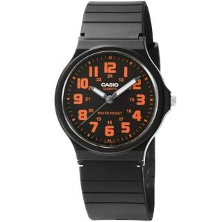 【CASIO】日系卡西歐薄型大數字石英錶-黑(MQ-71-4B)