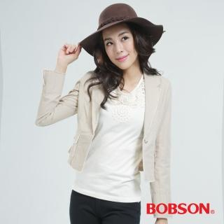 【BOBSON】外套(淺卡其65096-72)