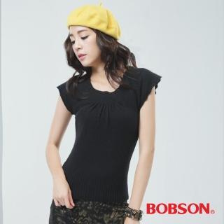 【BOBSON】毛衣(黑色65111-88)