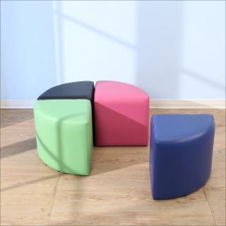 【BuyJM】多彩扇形沙發凳/沙發椅(40*40公分)