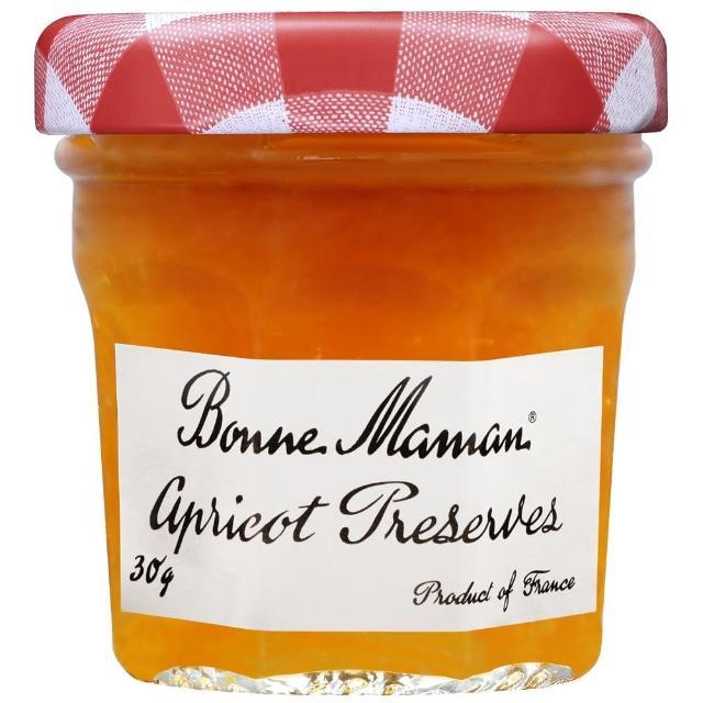 【Bonne Maman】法國BM迷你果醬-杏果 30g x60入