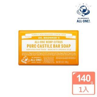 【Dr.Bronner's 布朗博士】柑橘潔顏皂(140g)