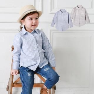 【baby童衣】男童格子襯衫 長袖純棉兒童襯衣 潮流韓版秋冬款 50617(共2色)