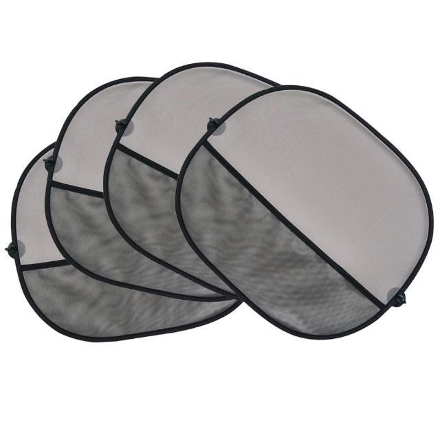 【3D】光淨化消臭遮陽小圓弧(2組4入)