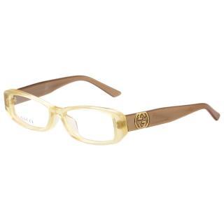 【GUCCI】-時尚光學眼鏡(透明黃)   GUCCI 古馳