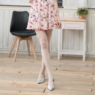 【Sneak Peek】透膚粉彩美腿褲襪(奶白色   四雙組)