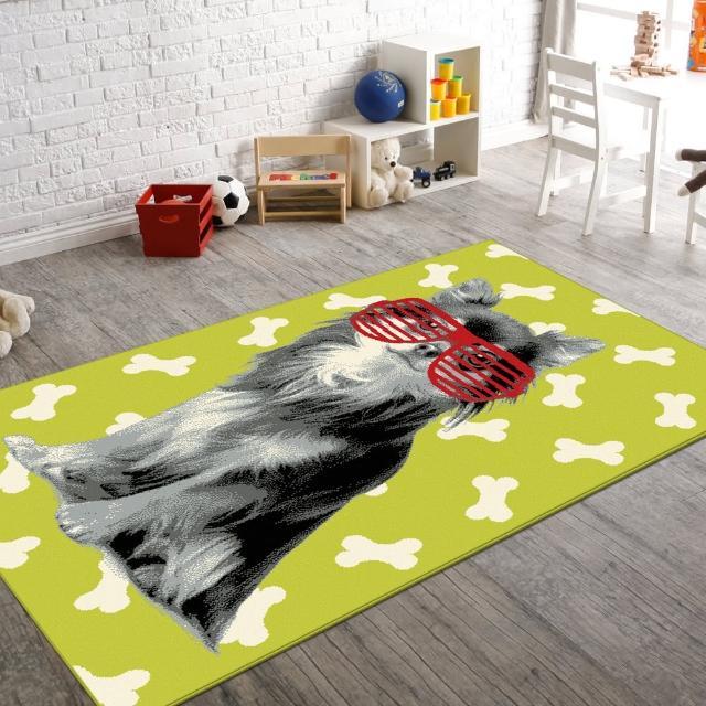 【范登伯格】FLASH★活潑俏麗進口地毯-貓(兩色120x170cm)