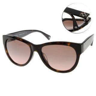 【COACH太陽眼鏡】時尚摩登貓眼款(深琥珀#COS8045F 500114)