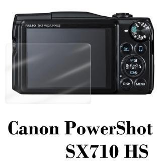 【D&A】Canon PowerShot SX710 HS相機專用日本原膜HC螢幕保護貼(鏡面抗刮)