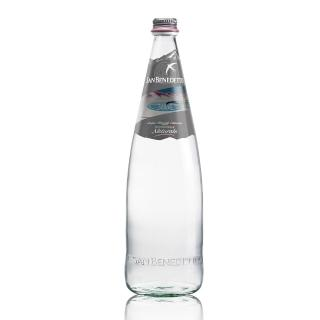 【San Benedetto】聖碧濤天然礦泉水1公升(玻璃瓶 12入)