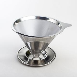 【UdiLife】慢拾光/手沖式不鏽鋼咖啡濾杯