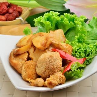 【鮮食家任選799】南門市場老林記三杯猴頭菇(220g/份)