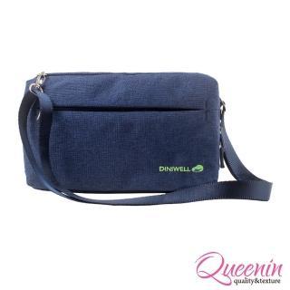 【DF Queenin日韓】韓版高質感旅行專屬側背包(共4色)