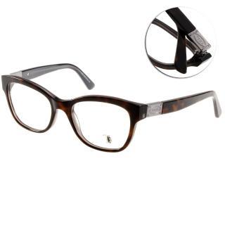 【TODS光學眼鏡】經典LOGO粗框款(深琥珀棕#TOD5120 056)