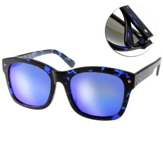 【Go-Getter太陽眼鏡】韓系百搭水銀鏡面款(藍琥珀#GS1004 BLDEBM)