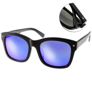 【Go-Getter太陽眼鏡】韓系百搭水銀鏡面款(黑#GS1004 BKBM)