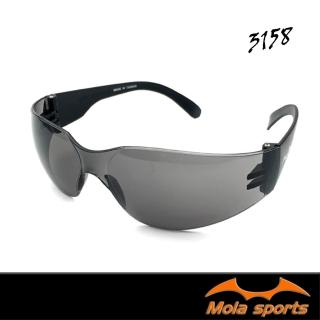 【MOLA SPORTS 摩拉】耐撞擊 100%抗紫外線 安全太陽眼鏡 成人(SA-3158)