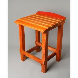 【MU LIFE 荒木雕塑藝品】復古課桌椅-生活彩椅板凳(復古課桌椅)