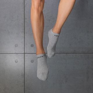 【aPure】除臭襪-素色船型運動襪(灰)