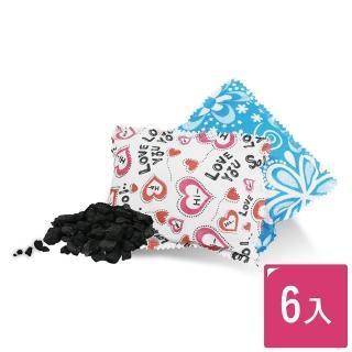 【MIDAS】吸濕除臭天然竹炭包 6入 /盒裝