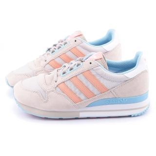 【Adidas】女款ZX 500 OGW 慢跑運動鞋(M19357-灰橘)