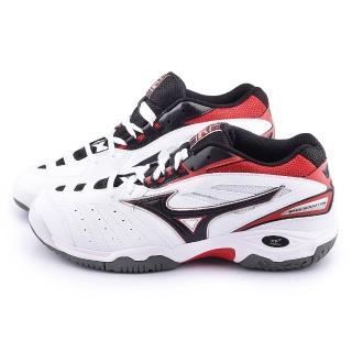 【MIZUNO】男款WAVE SENSATION OC 網球運動鞋(61GB154009-白紅)
