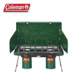 【美國 Coleman】折疊瓦斯雙口爐.高山瓦斯爐具(CM-6707)