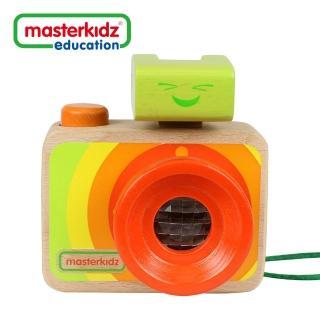 【Sunnybaby生活館】Masterkidz 木製彩虹照相機玩具