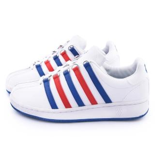 【K-SWISS】女款CLASSIC VN 經典復刻休閒鞋(93343-163-白藍紅)